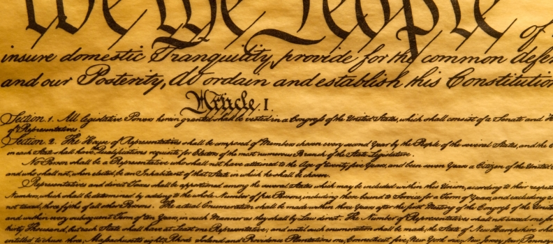 A Constitutional Right To Exist
